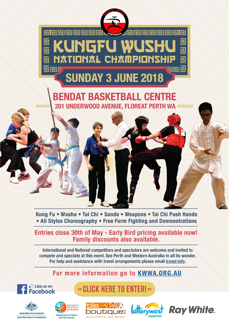 Kungfu Wushu National Championship 2018, Perth