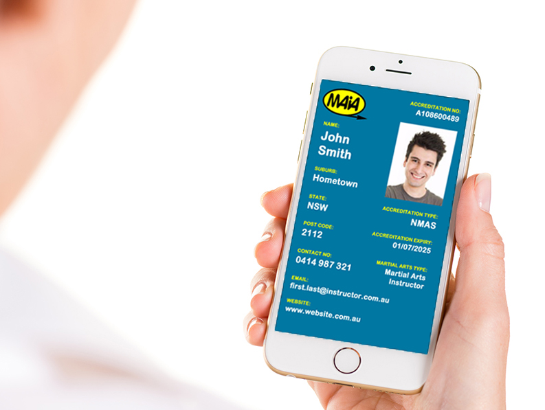 Smart Phone Accrediation ID